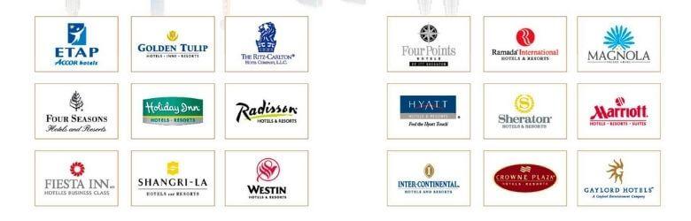 hotel furniture cooperation brand